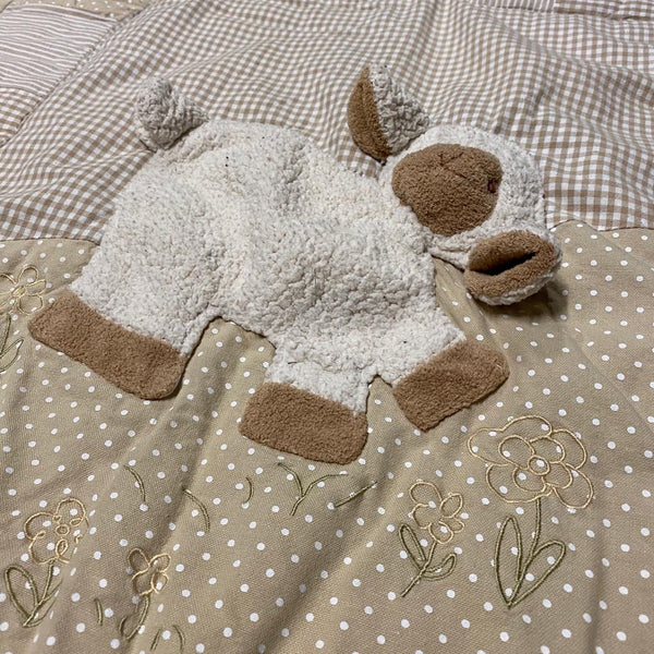 BABYDEKEN APPLE TREE LITTLE SHEEP online tweedehands winkel online webshop first class items mooie tweedehands spullen