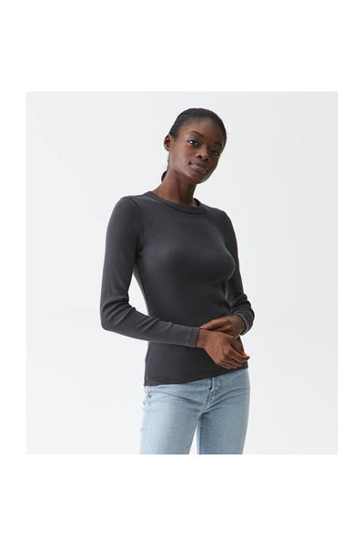 Long Sleeve Crew Neck Tee - Meridian
