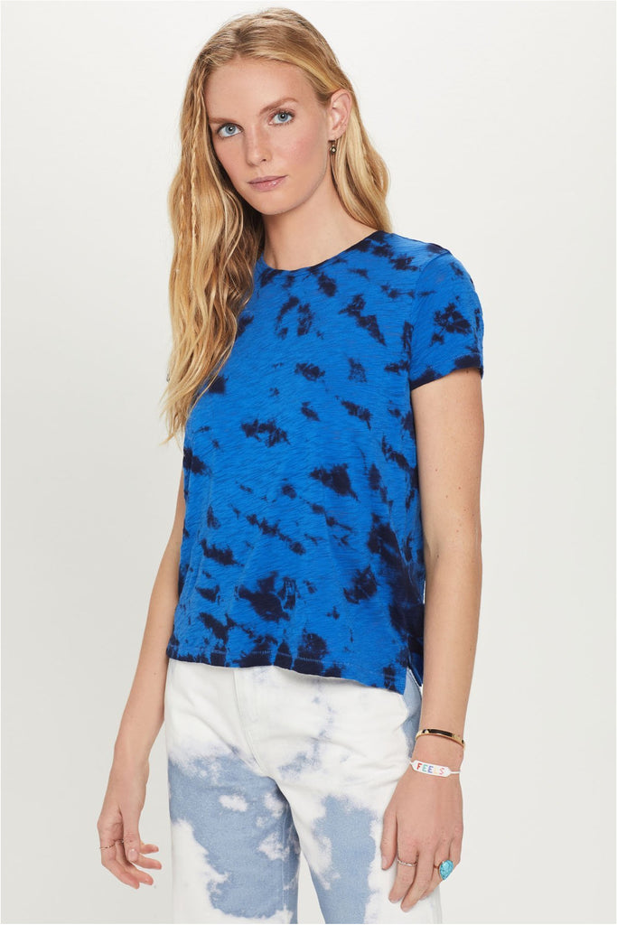 Dual Color Tie Dye Boy Tee - Meridian
