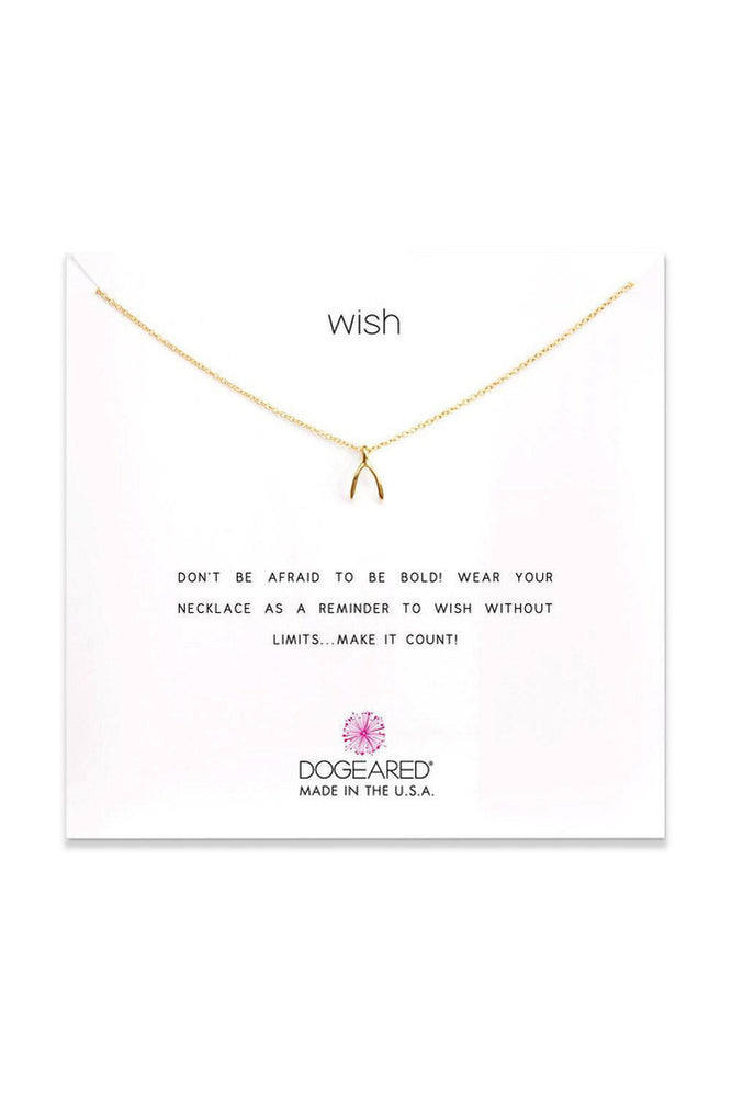 Wishbone Necklace - Meridian