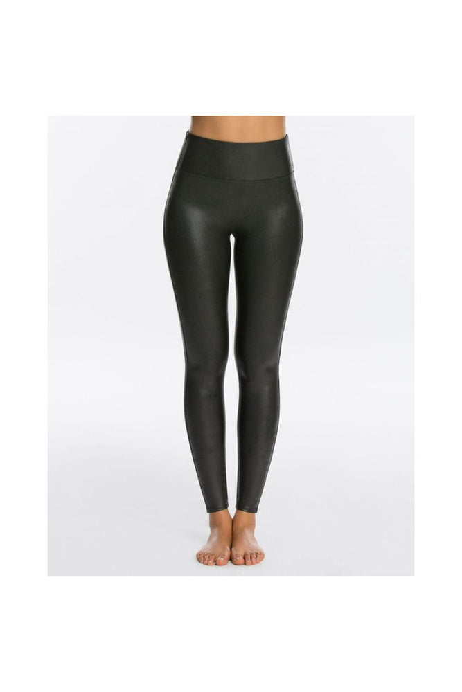 Faux Leather Leggings - Meridian