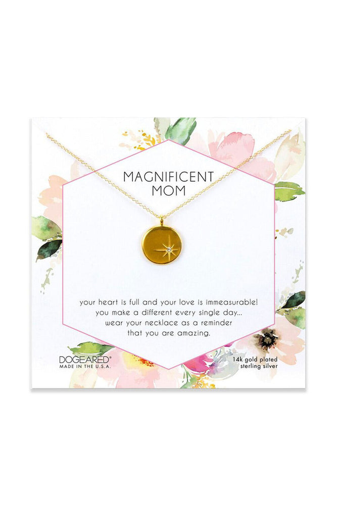 Magnificent Mom Sparkle Star Necklace - Meridian