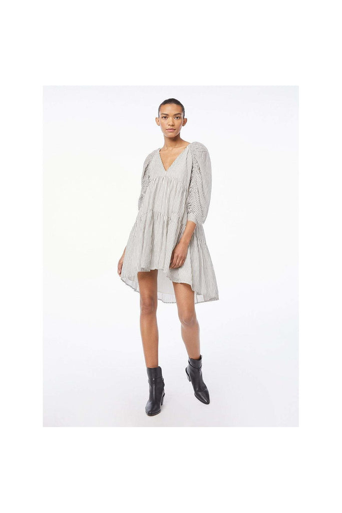 Shirred Empire Dress - Meridian