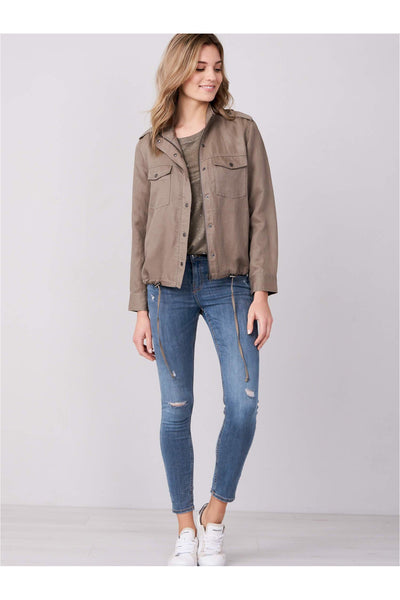 Lightweight Linen Blend Summer Jacket - Meridian