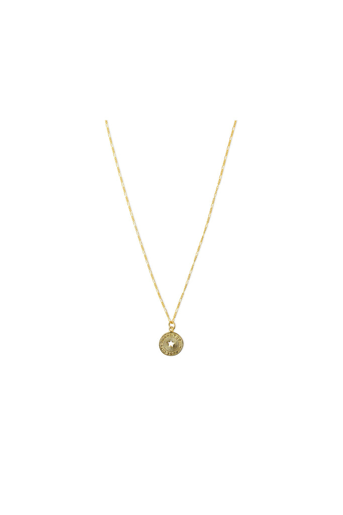 Cameo Coin Necklace - Meridian