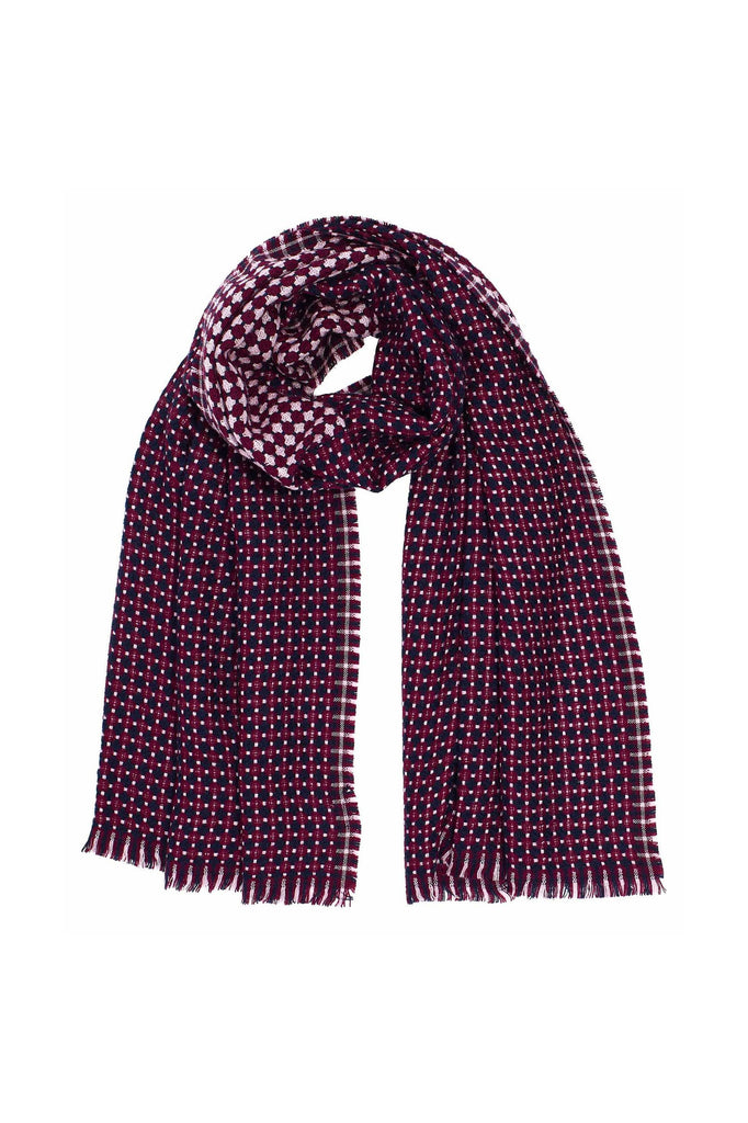 Cross Dot Scarf - Meridian