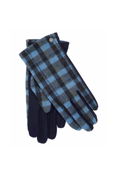 Plaid Touch Glove - Meridian