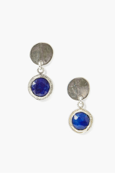 Lapis Drop Earrings - Meridian