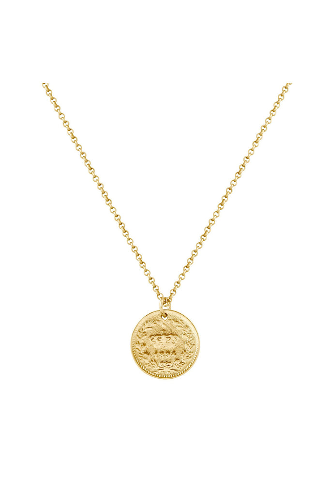 Fortune Coin Necklace - Meridian
