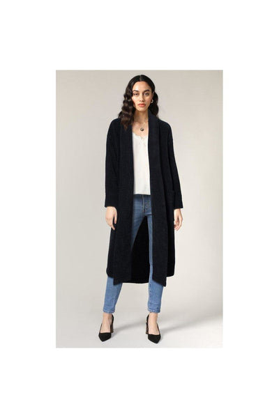 Libby Shawl Collar Soft Coat - Meridian