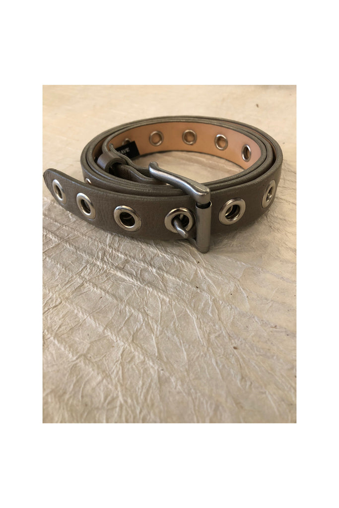 Dai Neutral Nappa Leather Belt - Meridian