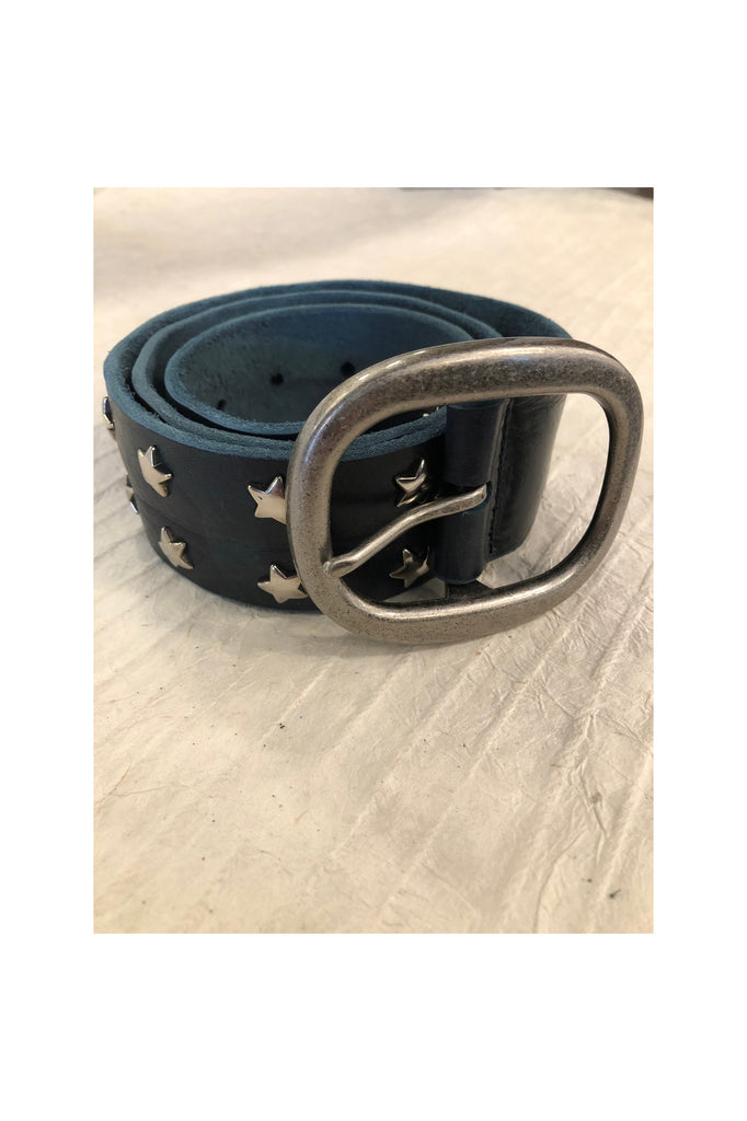 Miri Star Camo Leather Belt - Meridian