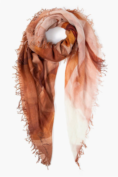 Calla Lilies Cashmere And Silk Scarf - Meridian