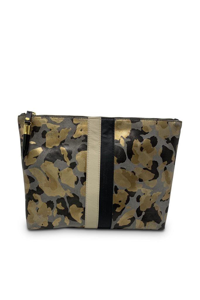 Medium Pouch - Charcoal Gold Camo - Meridian