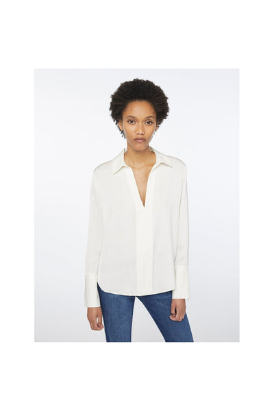 Clean Silk Blouse - Meridian