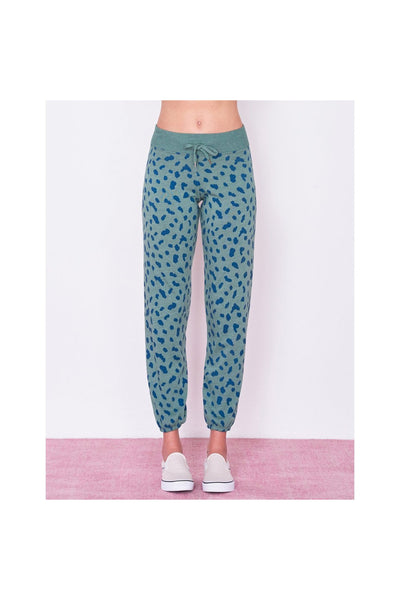 Abstract Dots Sweatpants - Meridian