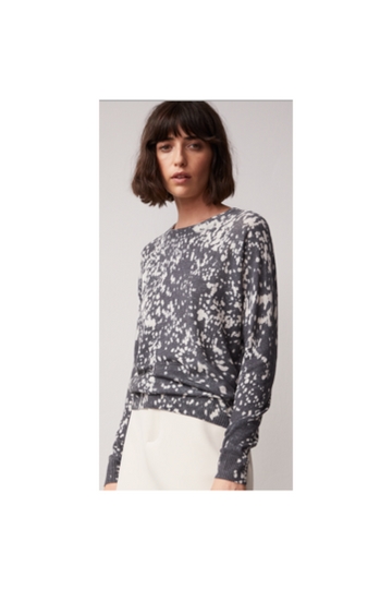 Bleach Print Sweater - Meridian