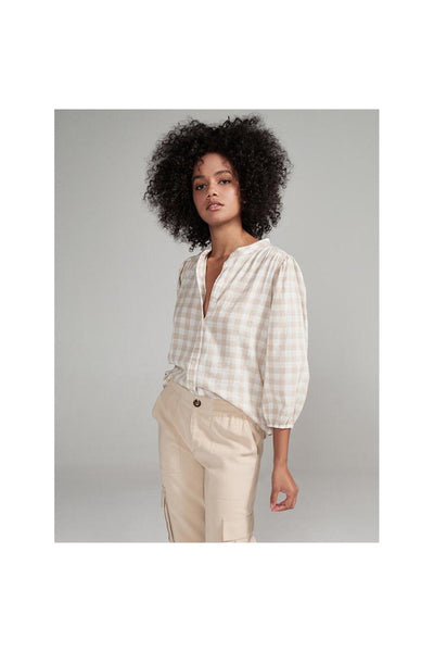 Evelyn Blouson Blouse - Meridian