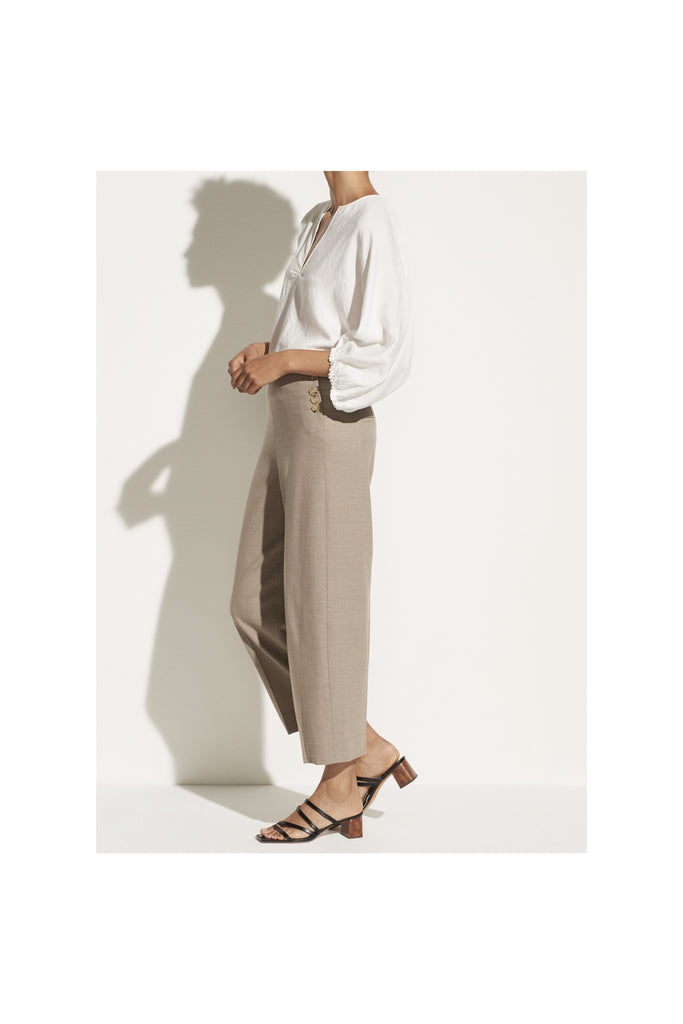 High Waist Crop Pant - Meridian