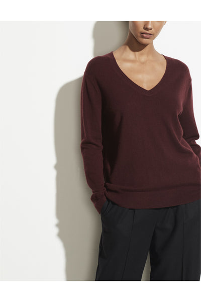 Cashmere Weekend V-Neck - Meridian