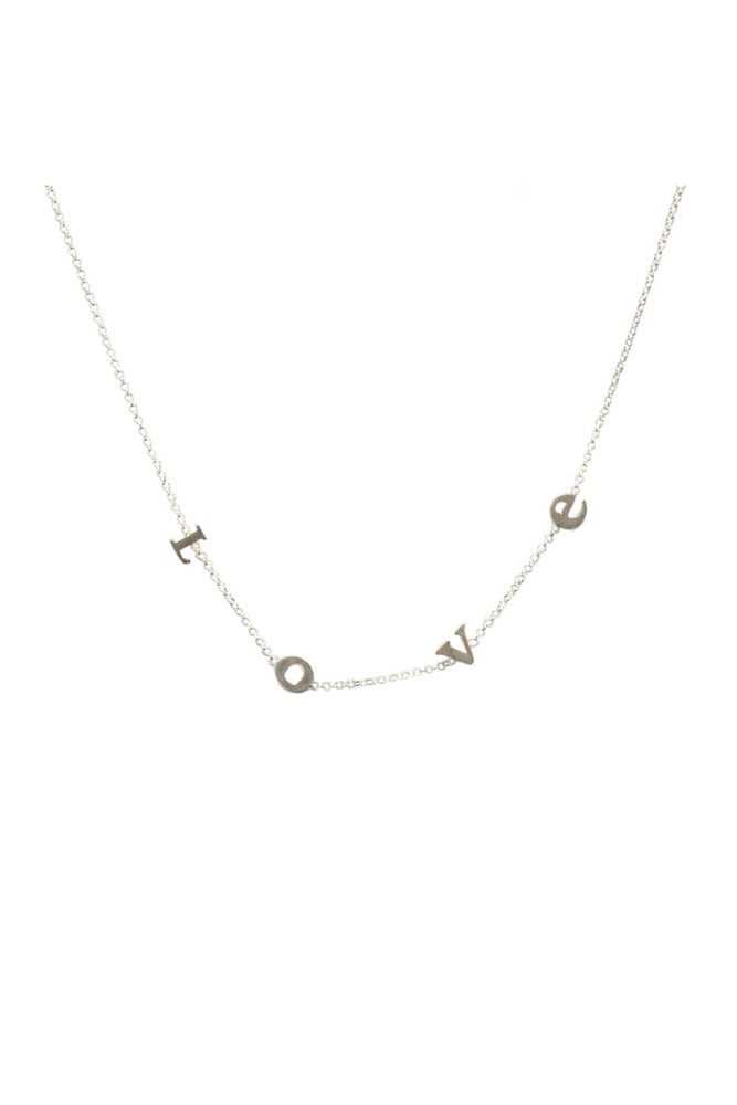 Do All Things With Love Short Necklace - Meridian