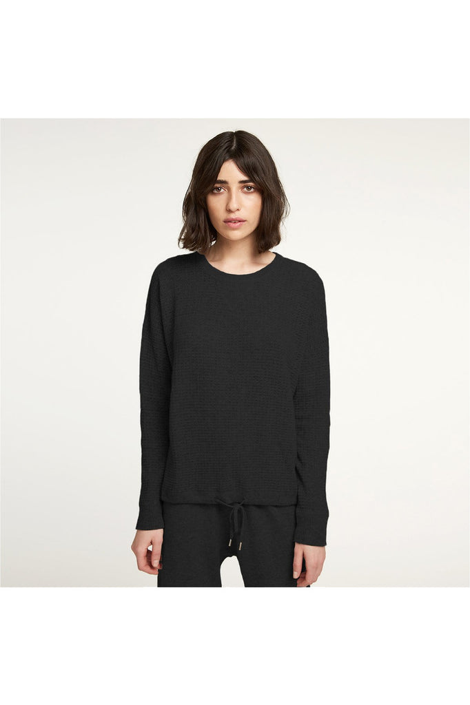 Cashmere Waffle Top - Meridian