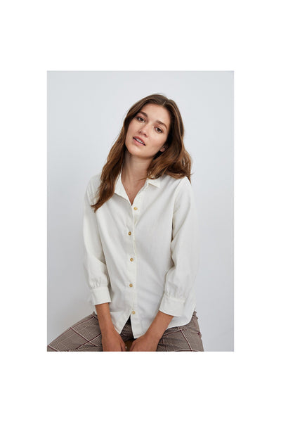 Suki Corduroy Button-Up Shirt - Meridian