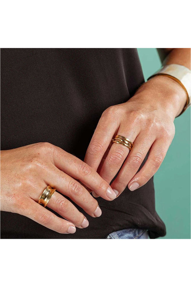 Moto Stacking Rings - Meridian