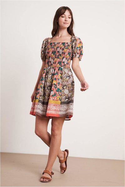 Taria Jaipur Printed Dress - Meridian