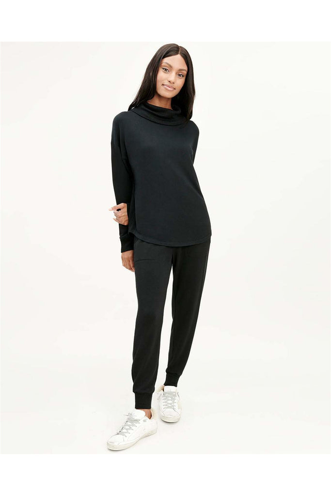 Supersoft Valley Cowl Neck Pullover - Meridian
