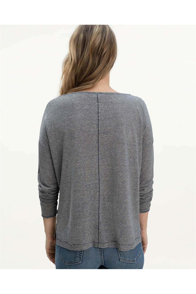 Ciara Long Sleeve Tee - Meridian