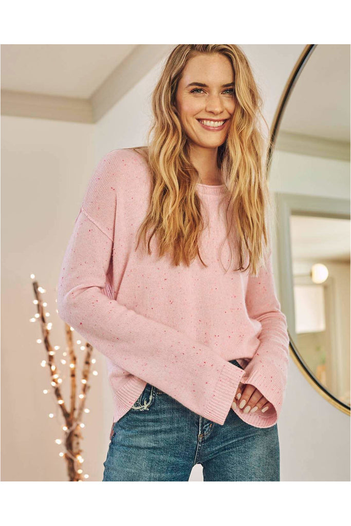 Marled Flurry Pullover - Meridian
