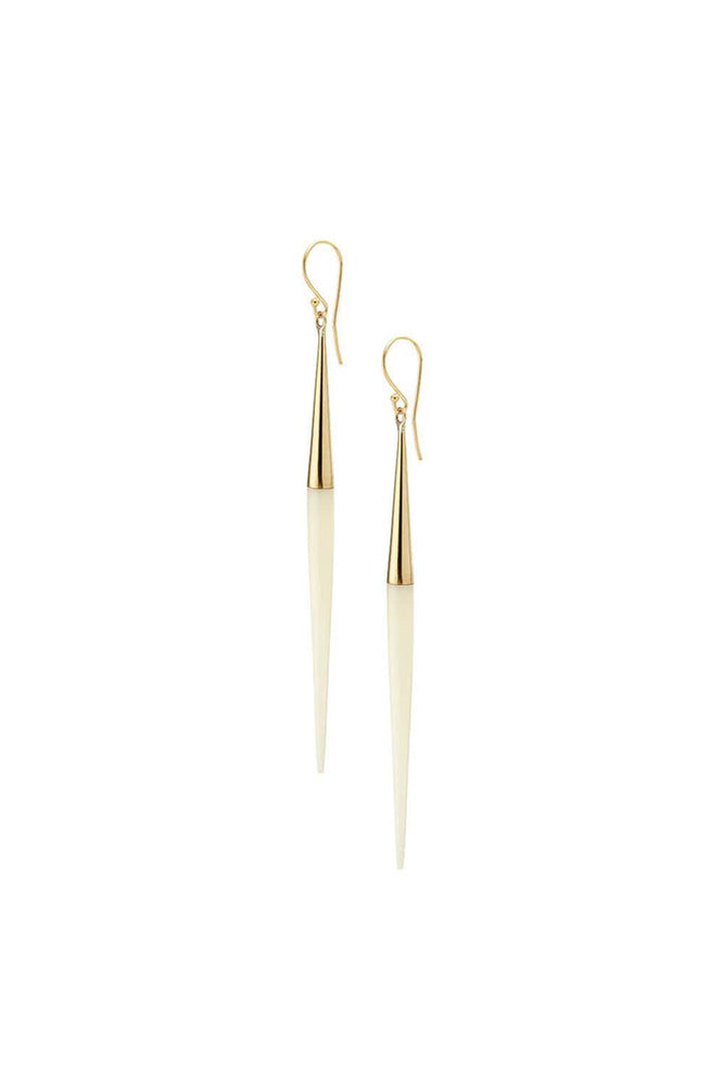 Capped Quill Dangle Earrings - Meridian