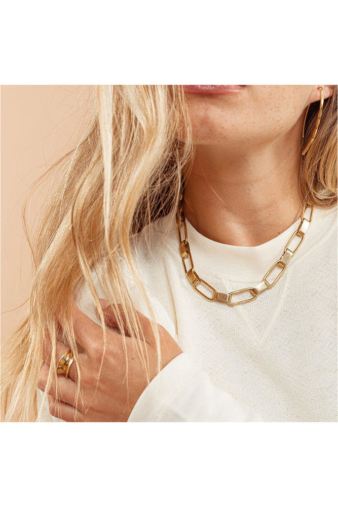 Capsule Collar Necklace - Meridian