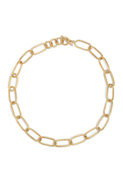 Ellipse Link Collar Necklace - Meridian