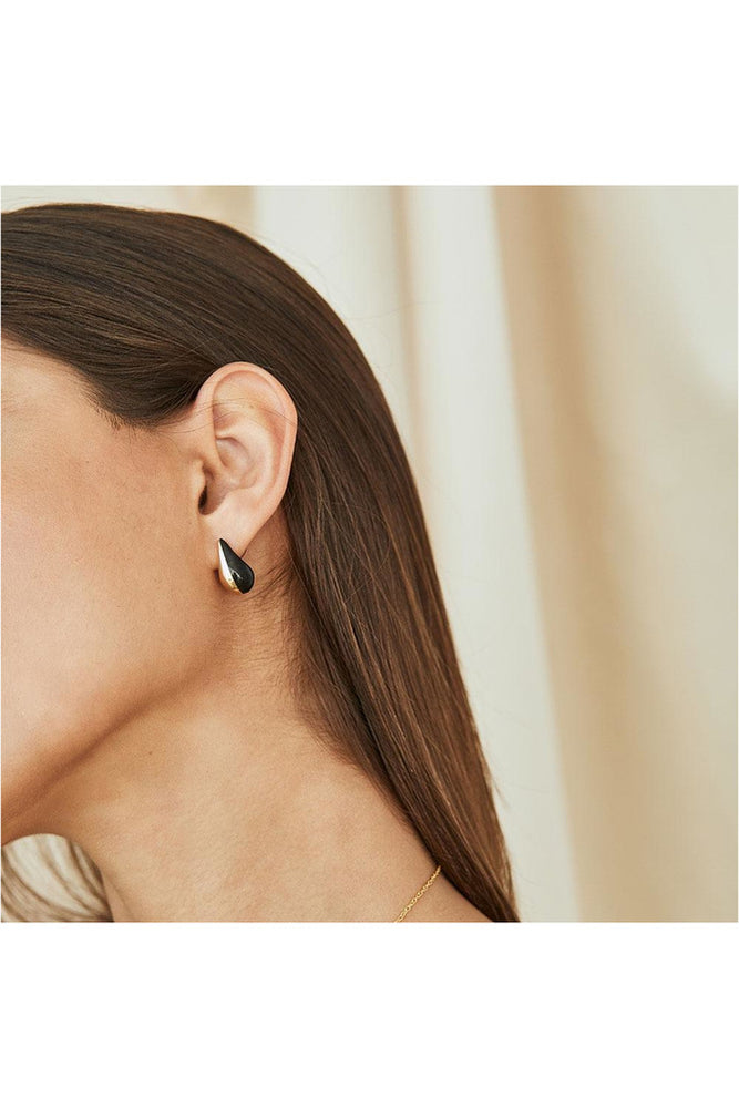 Nene Teardrop Stud Earrings - Meridian