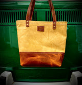 Limited Casual Tote In Yellow and English Tan