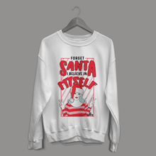 Load image into Gallery viewer, White Santa Sweater