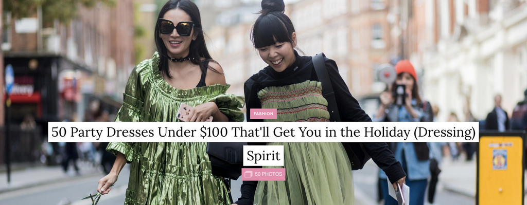 50 Party Dresses Under $100 That'll Get You in the Holiday (Dressing) Spirit