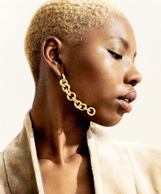 Go Big Or Go Home: 27 Extra-Large Gold Earrings For Making A Statement