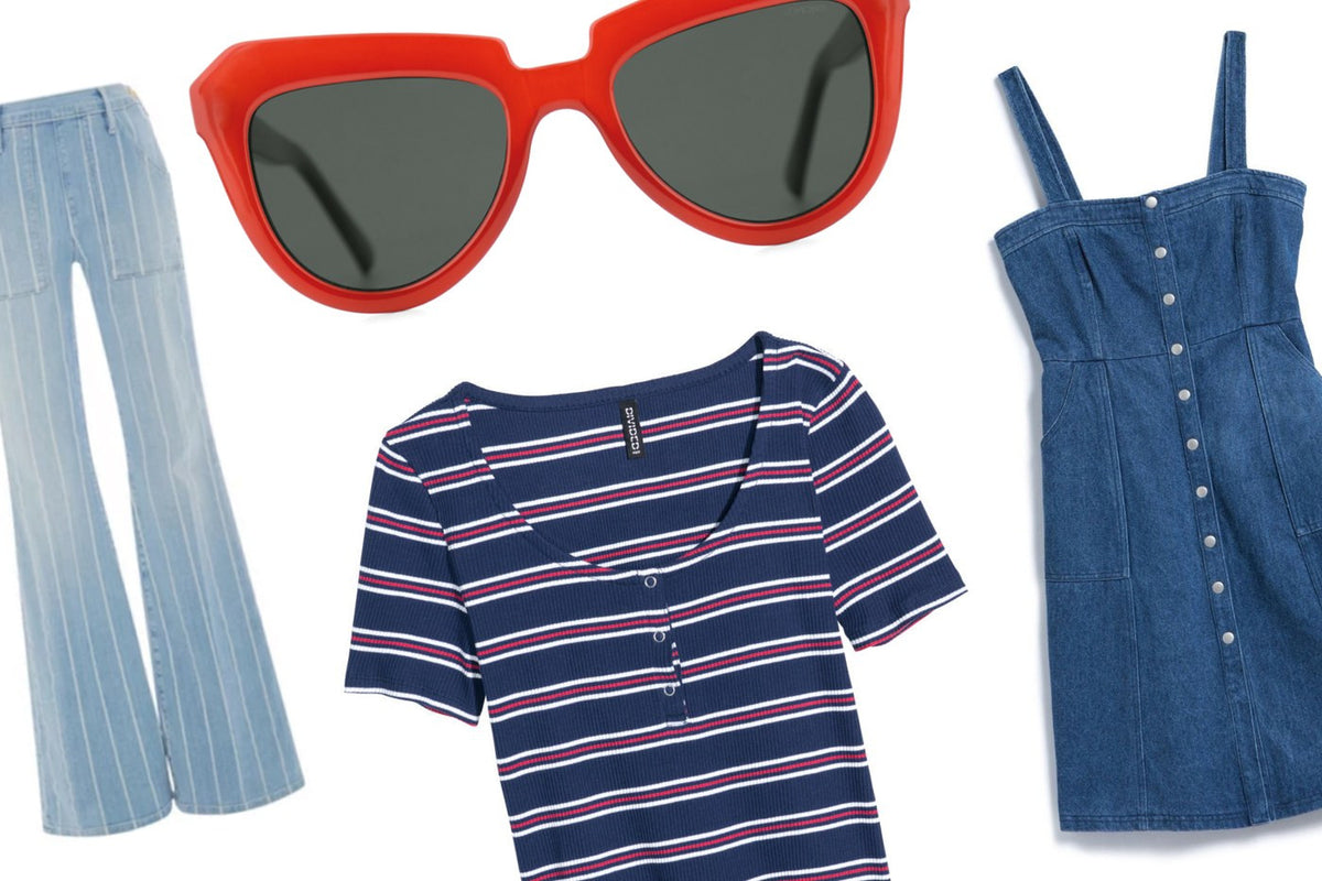 July 4th Fashion: 15 Ways To Wear Red, White and Blue