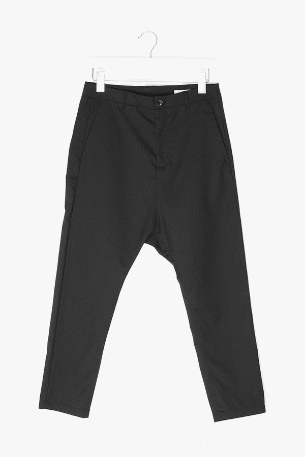 Poly Wool Blend Trousers