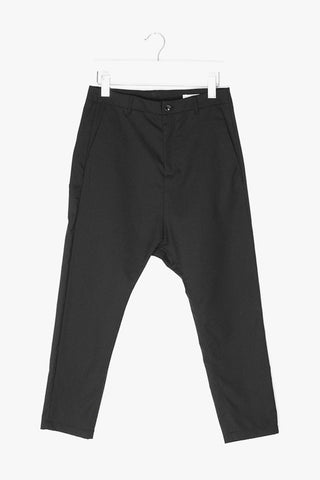 Wool Blend Loose Trousers
