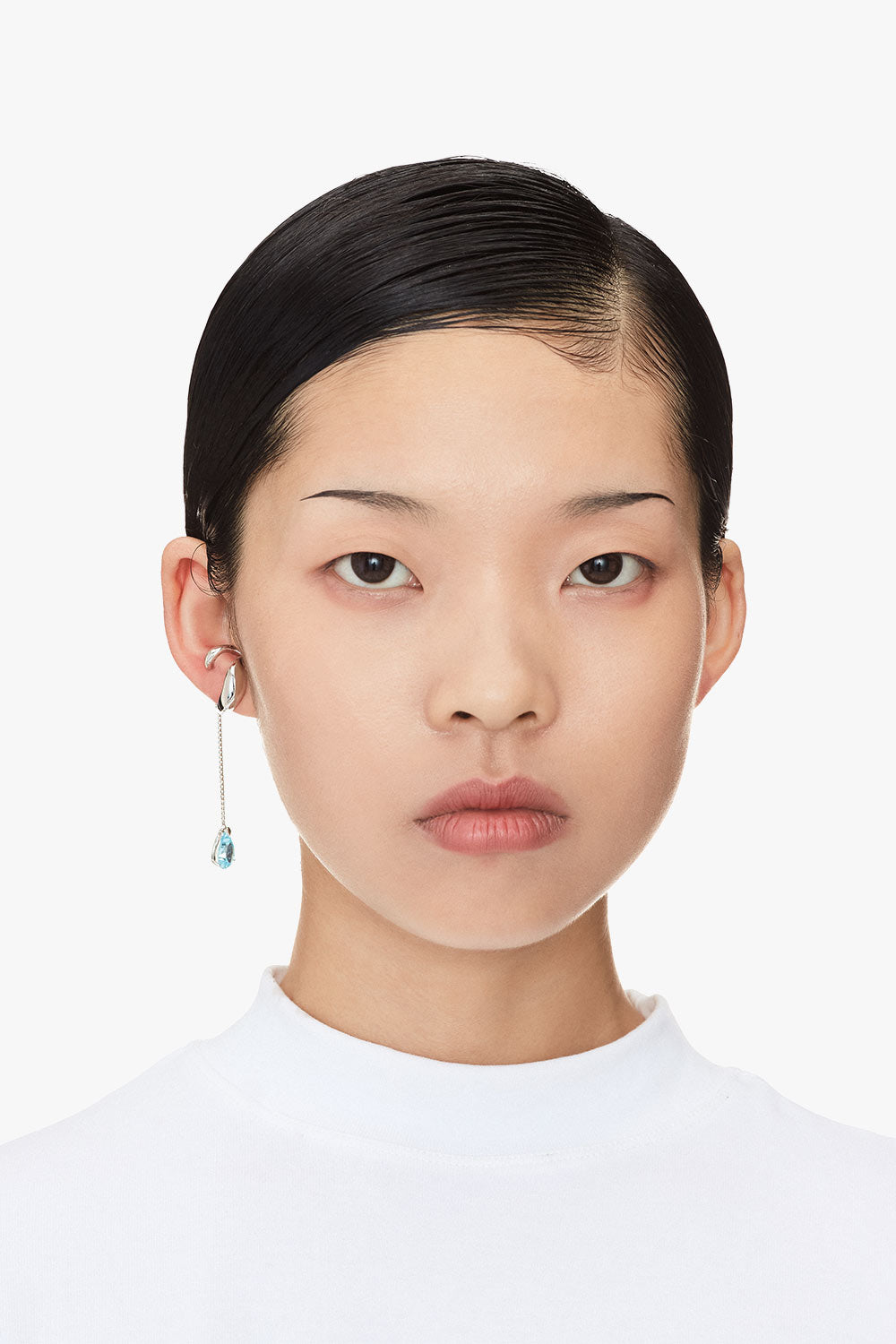 Wrap Teardrop Earring - One Piece