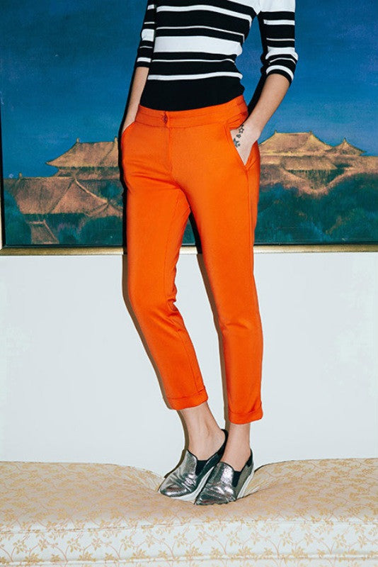 Low Rise Skinny Crop Pant