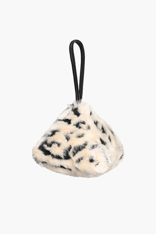 Leopard Triangle Bag