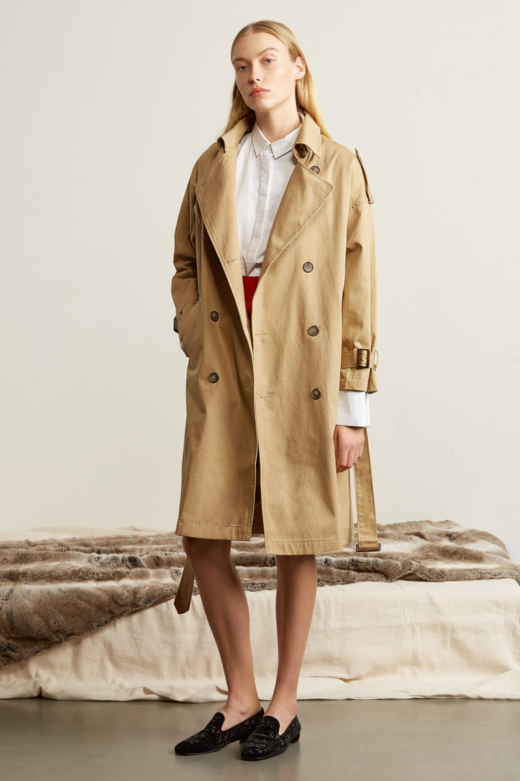 Classic Oversized Trench Coat