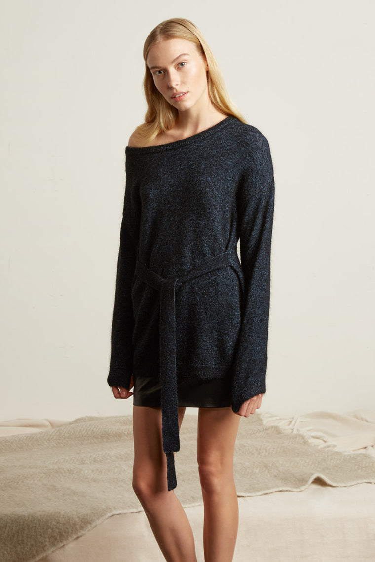 Oversized Mohair Blend Sweater