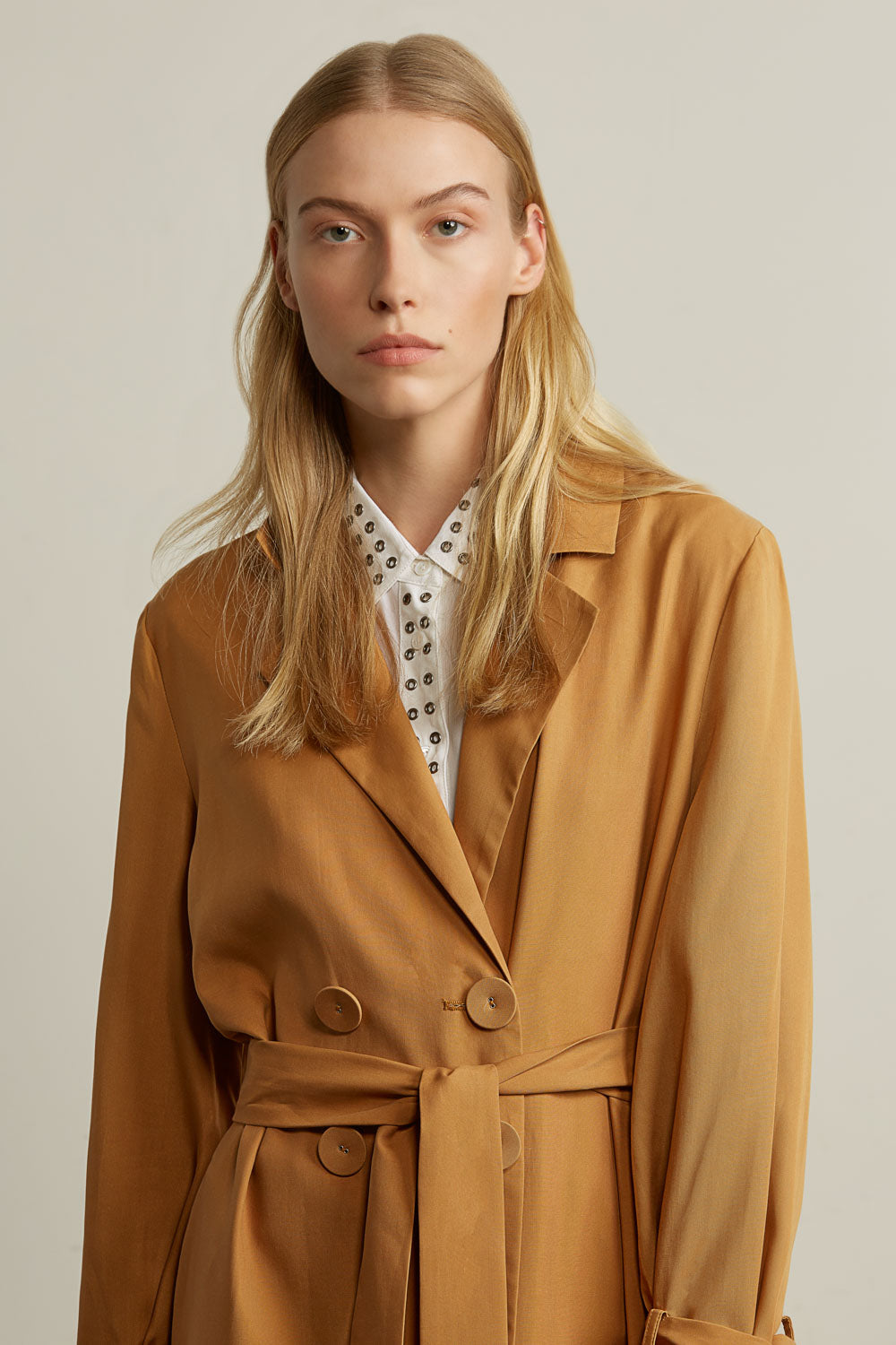 Oversized Lightweight Trench Coat