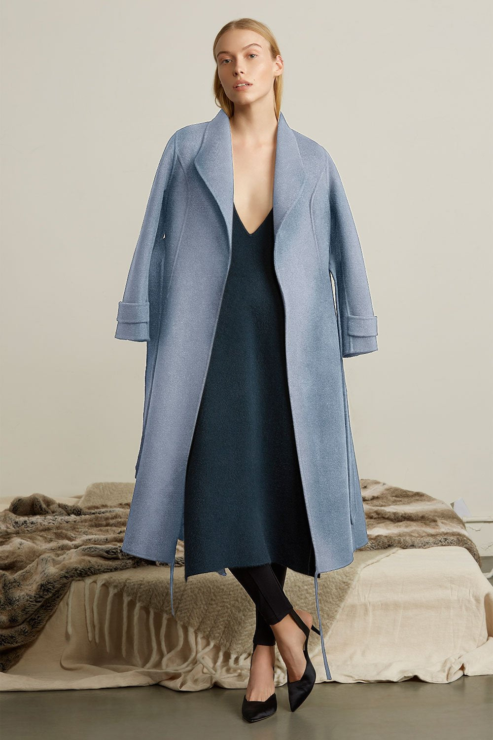Collar Wool Coat